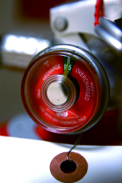 Monthly Fire Extinguisher Inspection – The Owners Responsibility